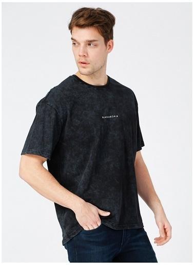 Black On Black Black On Black Essen Antrasit Erkek T-Shirt Antrasit